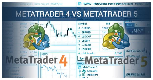 Metatrader 4 v Metatrader 5