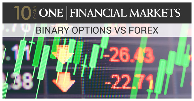 Binary option vs forex